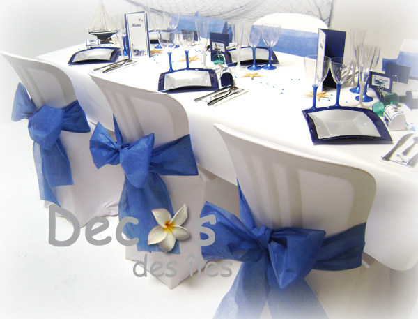 Decoration De Table Mariage Theme Marin